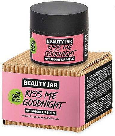 Nočná maska na pery - Beauty Jar Kiss Me Goodnight Overnight Lip Mask