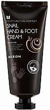 Voňavky, Parfémy, kozmetika Krém na ruky a nohy so slimačím mucínom - Mizon Snail Hand And Foot Cream