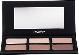 Voňavky, Parfémy, kozmetika Kontúrovacia paleta na tvár - Moira Highlight & Contour Palette