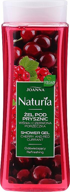 """Sprchový gél """"Višňa a ríbezle"""" - Joanna Naturia Cherry and Red Currant Shower Gel"""
