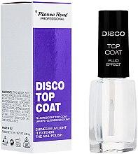 Voňavky, Parfémy, kozmetika Fluorescenčná vrchná vrstva - Pierre Rene Disco Top Coat Fluo Effect