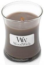 Voňavky, Parfémy, kozmetika Vonná sviečka v pohári - WoodWick Hourglass Candle Sand & Driftwood