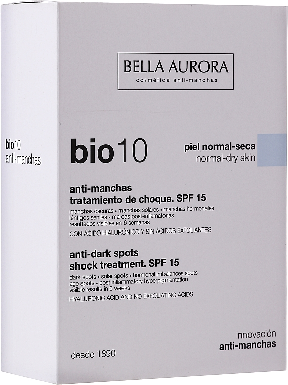 Fluid na tvár - Bella Auora Bio10 Anti Spots Serum — Obrázky N1