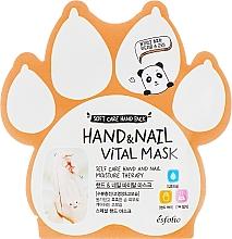 Voňavky, Parfémy, kozmetika Vitamínová maska na ruky a nechty - Esfolio Hand & Nail Vital Mask