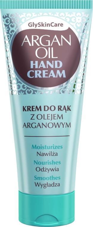 Krém na ruky s arganovým olejom - GlySkinCare Argan Oil Hand Cream