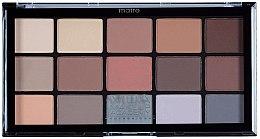 Voňavky, Parfémy, kozmetika Paleta tieňov na viečka - MUA Pro 15 Shade Eyeshadow Palette Matte