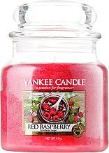 Voňavky, Parfémy, kozmetika Sviečka v sklenenej nádobe - Yankee Candle Red Raspberry