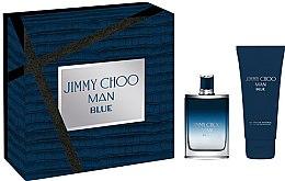 Voňavky, Parfémy, kozmetika Jimmy Choo Man Blue - Sada (edt/50ml + sh/gel/100ml)
