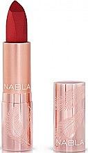 Voňavky, Parfémy, kozmetika Matný ruž na pery - Nabla Cult Matte Soft Touch Lipstick