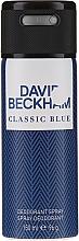 Voňavky, Parfémy, kozmetika David Beckham Classic Blue - Deodorant v spreji
