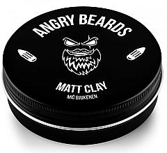 Voňavky, Parfémy, kozmetika Hlina na vlasy - Angry Beards Mic Bjukenen Matt Clay