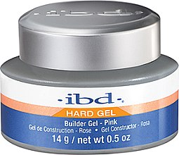 Voňavky, Parfémy, kozmetika Priehľadný gél na nechtový dizajn, ružový - IBD Builder Pink Gel