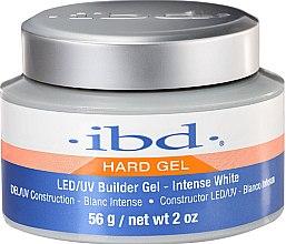 Voňavky, Parfémy, kozmetika Intenzívny konštruktivný biely gél na nechty - IBD LED/UV Builder Intense White Gel