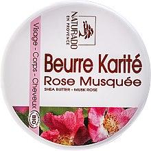 """Voňavky, Parfémy, kozmetika Olej na tvár a telo """"Šípky a bambucké maslo"""" - Naturado Musk Rose & Shea Butter"""