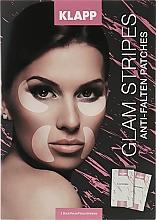 Voňavky, Parfémy, kozmetika Náplasti na tvár - Klapp Glam Stripes Anti Wrinkle Patches