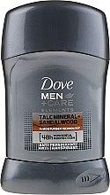 """Voňavky, Parfémy, kozmetika Tuhy dezodorant pre mužov """"Santalové drevo"""" - Dove Men+Care Dry Spray"""
