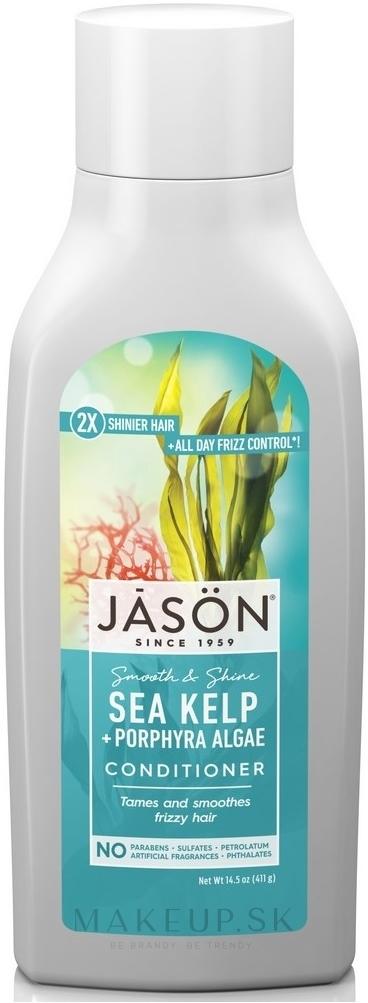 Kondicionér na vlasy s morskými riasami - Jason Natural Cosmetics Sea Kelp Hair Moisturizing Conditioner — Obrázky 454 ml