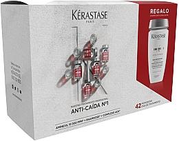Voňavky, Parfémy, kozmetika Sada - Kerastase Specifique Aminexil (shm/250ml+ampoule/42x6ml)