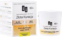 Voňavky, Parfémy, kozmetika Spevňujúci krém na krk a výstrih 60+ - AA Cosmetics Age Technology Golden Revival Cream