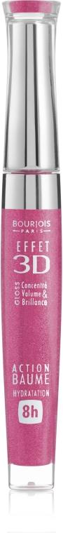 Lesk na pery s efektom balzamu - Bourjois Effet 3D Balm Action 8h