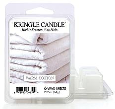 Voňavky, Parfémy, kozmetika Aromatický vosk - Kringle Candle Wax Melt Warm Cotton