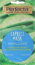 Hydratačná maska na tvár s aloe vera - Perfecta Express Mask — Obrázky N1
