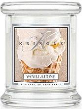Voňavky, Parfémy, kozmetika Vonná sviečka v pohári - Kringle Candle Vanilla Cone
