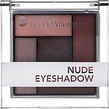 Voňavky, Parfémy, kozmetika Hypoalergénne saténovo-krémové očné tiene - Bell Hypoallergenic Nude Eyeshadow