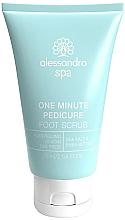 Voňavky, Parfémy, kozmetika Peeling na pokožku nôh a chodidiel - Alessandro International Spa One Minute Pedicure Foot Scrub