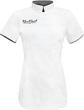 Voňavky, Parfémy, kozmetika Kozmetická tunika, veľkosť L, biela - NeoNail Professional