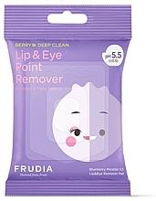 Voňavky, Parfémy, kozmetika Micelárne utierky na odlíčenie očí a pier - Blueberry Micellar 5.5 Lip & Eye Remover Pad