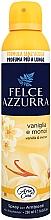 Voňavky, Parfémy, kozmetika Osviežovač vzduchu - Felce Azzurra Vaniglia e Monoi Spray