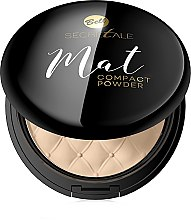 Voňavky, Parfémy, kozmetika Kompaktný matný púder - Bell Secretale Mat Compact Powder