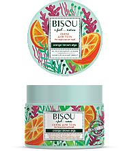 """Voňavky, Parfémy, kozmetika Scrub na telo """"Anticelulitídny"""" - Bisou I feel... Nature Anti-Cellulite Body Scrub Orange & Brown Algae"""