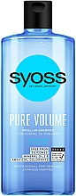 Voňavky, Parfémy, kozmetika Micelárny šampón pre normálne a tenké vlasy - Syoss Pure Volume Micellar Shampoo