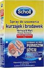 Sprej na odstránenie bradavíc a proti lupinám - Scholl Verruca and Warts Removing Spray — Obrázky N2
