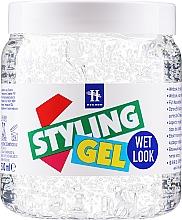 """Voňavky, Parfémy, kozmetika Gél pre úpravu vlasov """"Mokrý efekt"""" - Hegron Styling Gel Wet Look"""