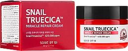 Voňavky, Parfémy, kozmetika Revitalizačný krém so slimákovým mucínom a ceramidmi - Some By Mi Snail Truecica Miracle Repair Cream
