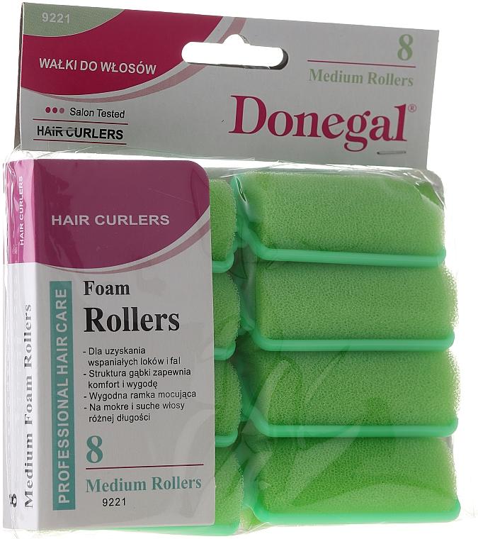 Natáčky na vlasy 25 mm, 8 ks - Donegal Sponge Curlers