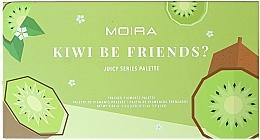 Voňavky, Parfémy, kozmetika Paleta očných tieňov - Moira Kiwi Be Friends? Pressed Pigments Palette