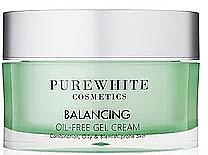 Voňavky, Parfémy, kozmetika Gélový krém na tvár - Pure White Cosmetics Balancing Oil-Free Gel Cream