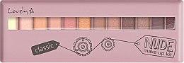 Voňavky, Parfémy, kozmetika Paleta tieňov - Lovely Classic Nude Make Up Kit