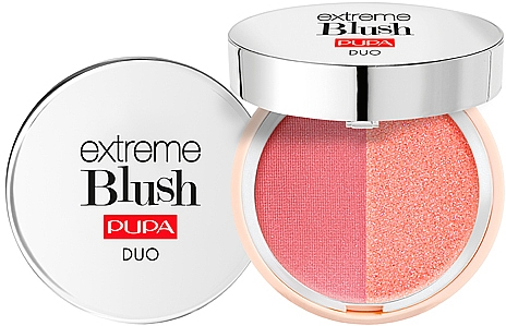 Kompaktná dvojitá lícenka - Pupa Extreme Blush Duo