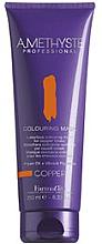 Voňavky, Parfémy, kozmetika Farbiaca maska na vlasy pre medené odtiene - FarmaVita Amethyste Colouring Mask Copper