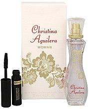 Voňavky, Parfémy, kozmetika Christina Aguilera Woman - Sada (edp/30ml + mascara/5.3ml)