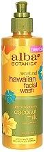 "Voňavky, Parfémy, kozmetika Čistiaci prostriedok na tvár ""Kokosové mlieko"" - Alba Botanica Natural Hawaiian Natural Hawaiian Facial Wash Deep Cleansing Coconut Milk"