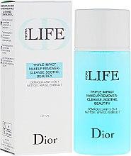 Voňavky, Parfémy, kozmetika Prostriedok pre odstranenia make-upu 3-v-1 - Dior Hydra Life Triple Impact Makeup Remover