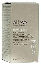 Voňavky, Parfémy, kozmetika Pánsky hydratačný krém proti starnutiu SPF15 - Ahava Age Control Moisturizing Cream SPF15