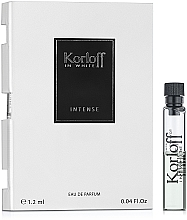 Voňavky, Parfémy, kozmetika Korloff Paris In White Intense - Parfumovaná voda (vzorka)