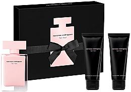 Voňavky, Parfémy, kozmetika Narciso Rodriguez For Her - Sada (edt/50ml + b/lot/75ml + sh/gel/75ml)